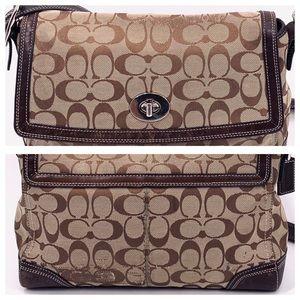 Coach Bags - COACH Hampton Flap cross-body shoulder bag F13972